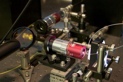 Photonic time stretch microscope, Tunde Akinloye/CNSI