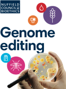 rapport du Conseil Nuffield sur l'éthique de l'édition du génome