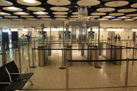 ePassport gates in Heathrow Airport (Terminal 5) Credit : wikipedia