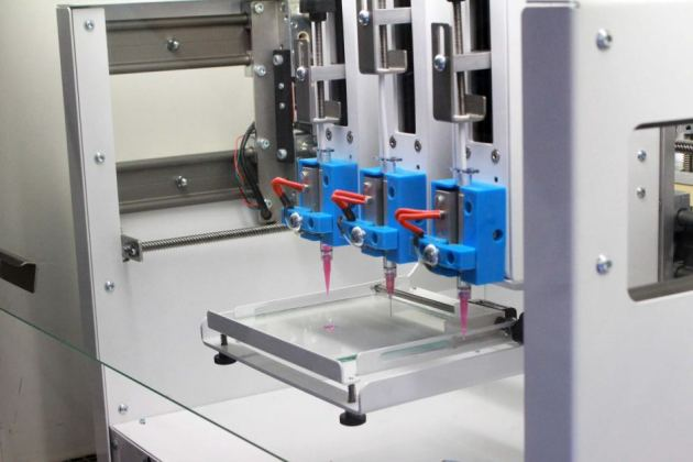The Heart Research Institute's 3D cell printer. Supplied: HRI