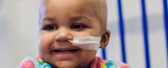 Layla Richards. Credit: Sharon Lees/Great Ormond Street Hospital